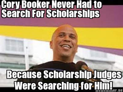 Why Cory Book Never Applied For Scholarships!