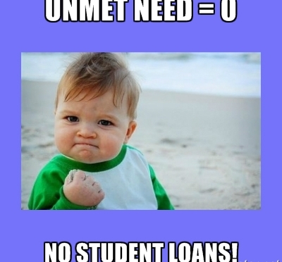 What Does UNMET Need Mean On My Financial Aid Letter