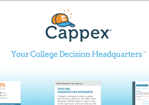 Cappex.com Screenshot