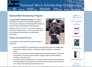 Take the PSAT to qualify for the National Merit Scholarship Competition