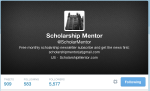 @Scholarshipmentor is a scholarship feed service