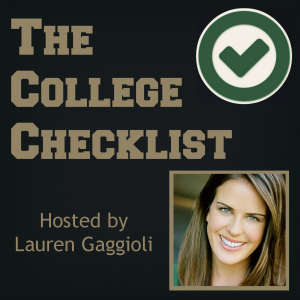 College Checklist Podcast by Lauren Gaggioli